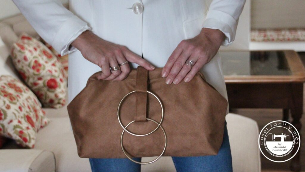 bolso de mano con pulsera clutch menudo numerito blogs de costura