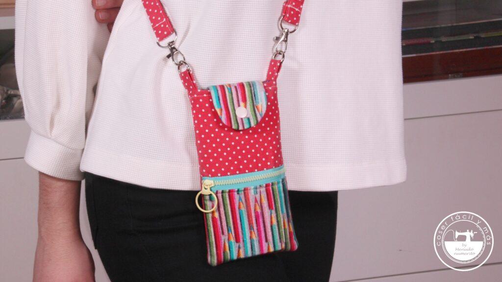 mini bolso movil lapices con logo