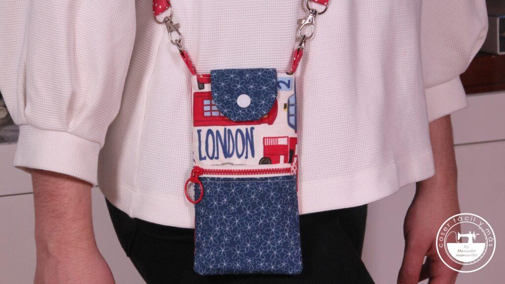 phone pouch mini bolso movil menudo numerito blogs de costura