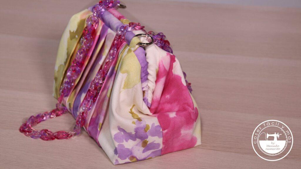 bolso acuarela con boquilla metalica blogs de costura