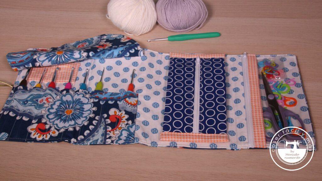 estuche agujas ganchillo crochet blogs de costura menudo numerito
