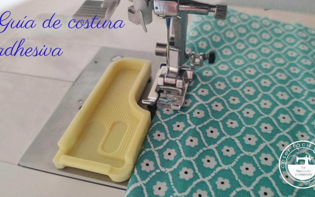 Guía de costura adhesiva