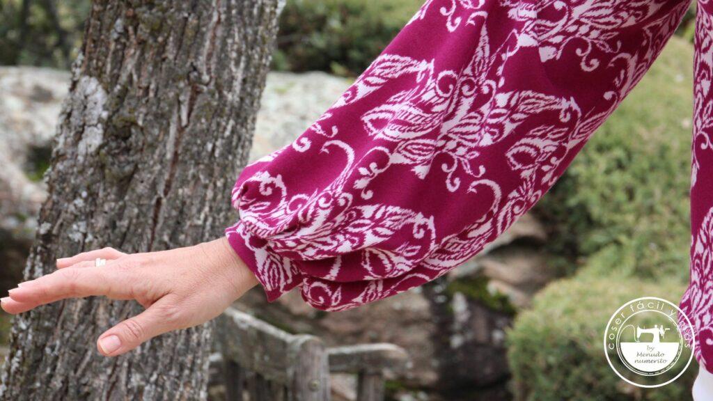 jersey escote manga abullonada menudo numerito blogs de costura singer julian lopez