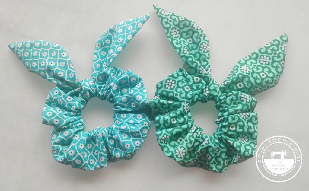 scrunchies donas coleteros menudo numerito blogs de costura