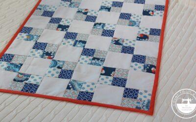Colcha de patchwork , especial para principiantes