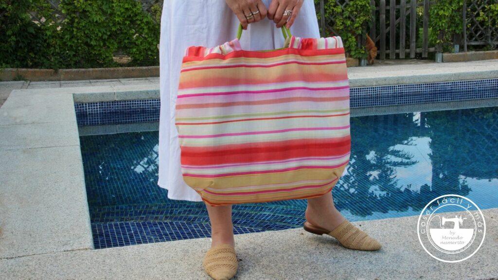 bolso playa reversible blogs de costura menudo numerito singer