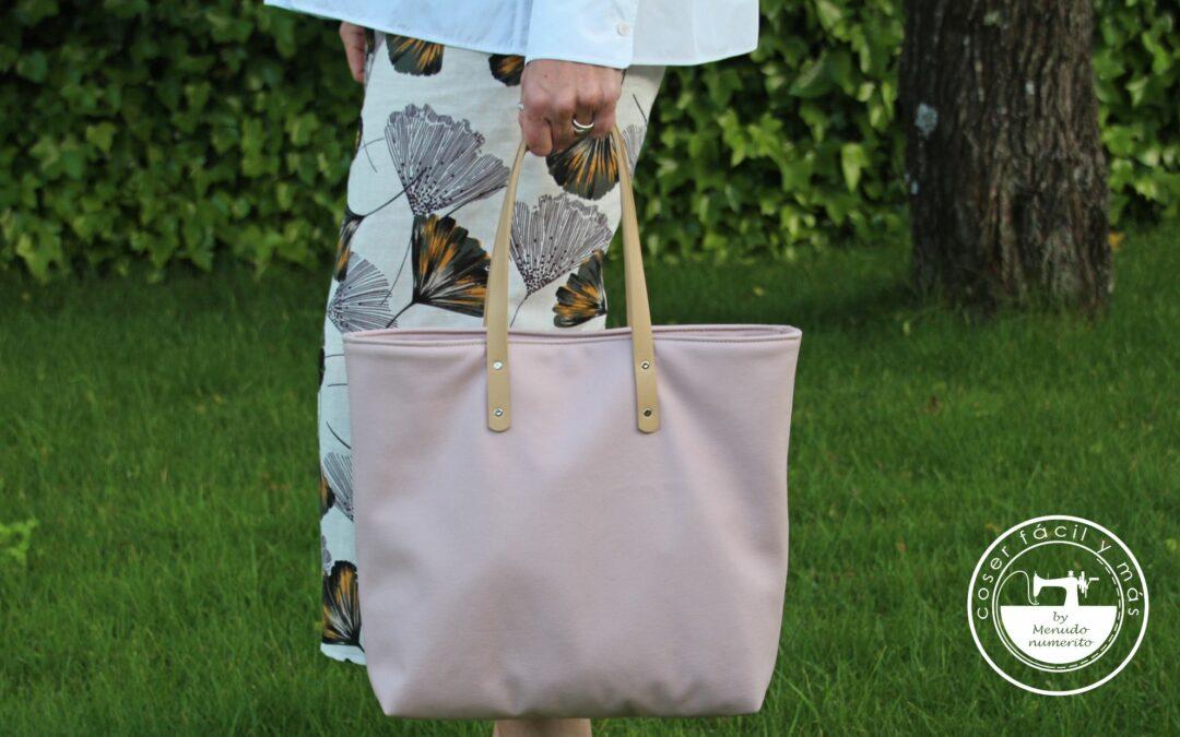 «Rose», el bolso tote con organizador (1ª parte)