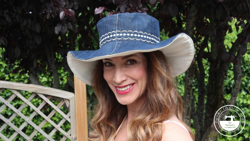 sombrero tela reciclado gutermann blogs de costura