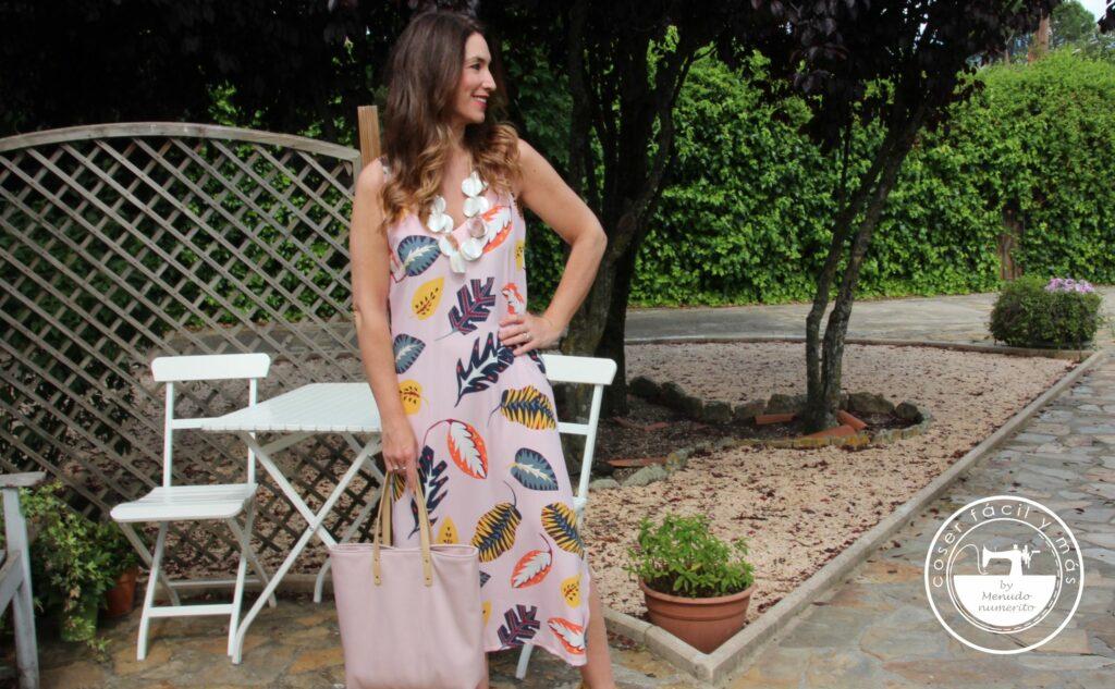 vestido largo fácil blogs de costura menudo numerito julian lopez