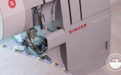 Remalladora con 4 hilos, la solución para coser tejidos elásticos