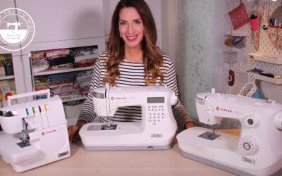 Elite de Singer, una nueva línea de máquinas de coser y remalladora