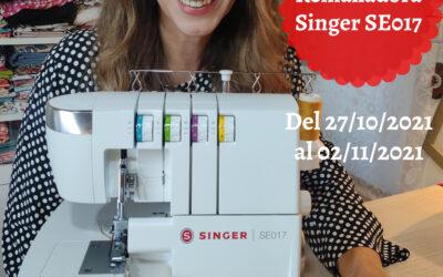 Sorteo de remalladora Singer SE017, serie Elite